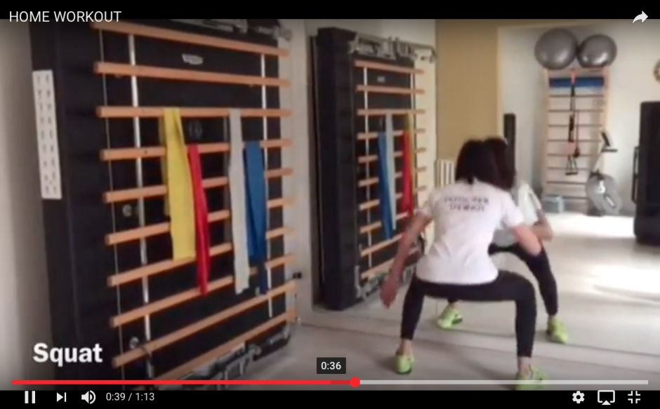 HOME WORKOUT - ALLENATI E DIVERTITI ANCHE A CASA